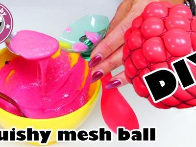 DIY Super coolen Antistressball selber machen |  Squishy Mesh Ball herstellen | Kinderkanal
