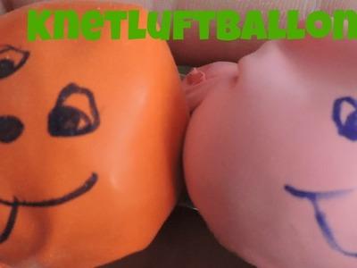 Knetballons zum selber machen