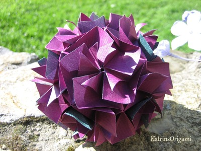 Origami ⊰♥⊱ Bella ⊰♥⊱ Kusudama