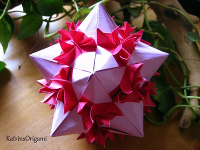 Origami Bonsai Kusudama