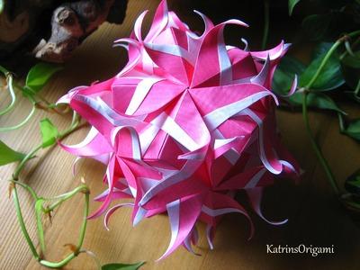Origami ♥ Neptune ♥ Kusudama