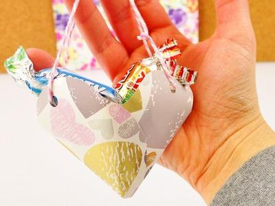 Super Herzchen Geschenktüte für Muttertag | Diy Giftbag | Einfach & Schnell selber machen | Herz