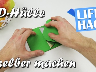 CD-Hülle selber machen - Lifehack