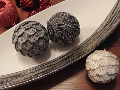 DIY Christbaumkugeln - Christmas Baubles