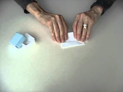 Folding paper boxes - Papierschachteln falten