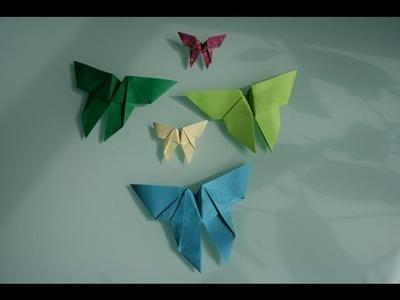 Origami Schmetterling butterfly