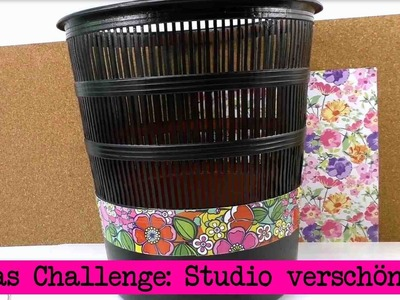 DIY Inspiration Challenge #13 Studio verschönern | Evas Challenge | Do It Yourself Tutorial