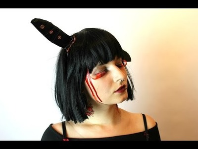 """HOW TO: """"The Dead Knife Thrower's Assistant"""" Costume [DIY Fake Knife]"""
