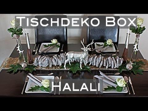 Tischdeko | Tischdeko-Box | Halali | Tischdekoration DIY