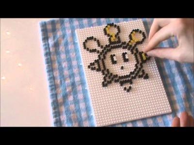 Bügelperlen Vorlage #22 Mario Sun. Perler bead