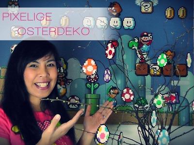 DIY: Pixelige Osterdeko mit Yoshi's Eiern