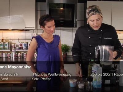 Alles vegan: Mayonnaise - Kochshow mit Kerstin Linnartz