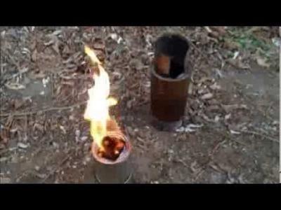 Der Moriarty Holzvergaser Mini UL Bauanleitung diy myog Woodgasstove Hobo Bushcraft Survival