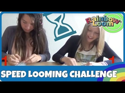Rainbow Loom Speed Looming Challenge - deutsch