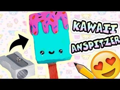 DIY KAWAII ANSPITZER!   ice cream sharpener *.* # Bonnytrash