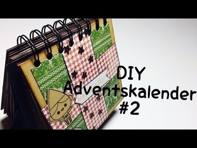 DIY Adventskalender#2 [ tutorial | deutsch ]