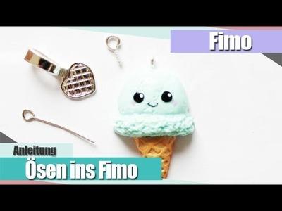 IFimo BasicsI Ösen ins Fimo bekommen I Anielas Fimo