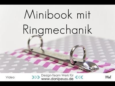 Minibook mit Ringmechanik