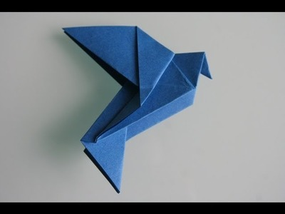Origami Taube dove