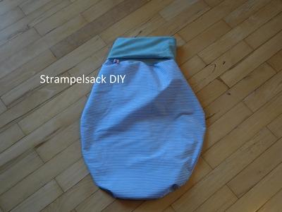 Strampelsack nähen DIY