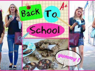 BACK TO SCHOOL Gesunde Snacks für die Schule.Uni.Arbeit | funnypilgrim