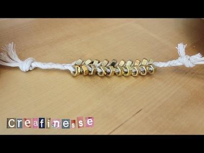 Creafinesse #3 - Armband (DIY)