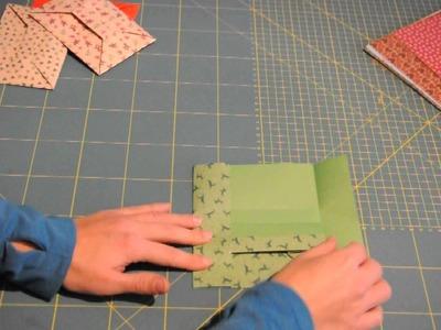 Last-Minute-Briefumschlag falten - Teil 2