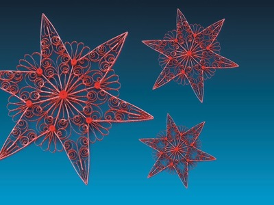 Quilling Star 20 - The Star of Flensborg