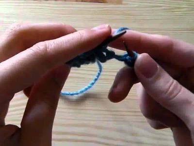Stricken lernen - Perlmuster für Linkshänder