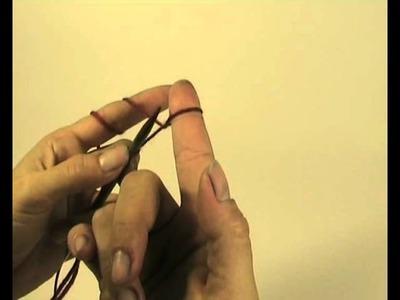 Maschen auffassen sehr einfach - Stricken. Grundtechniken