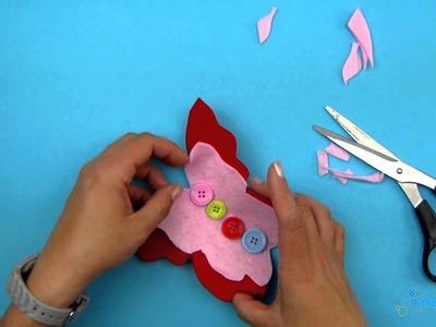 Basteln mit Kindern - Tollen Schmetterling basteln