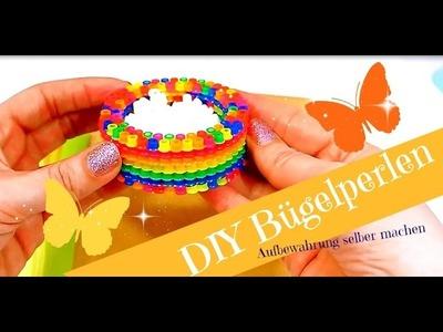 DIY Bügelperlen Ideen | Schreibtisch Aufbewahrungen selber machen | Basteln mit Perlen