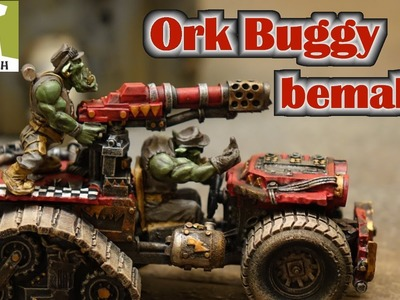 Kromlech Ork Buggy Bemal Tutorial mit Army Painter Farben Tabletop - für Anfänger in Full HD
