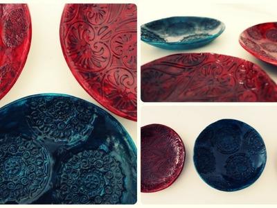 Schale aus Ton * DIY * Clay Bowl [eng sub]