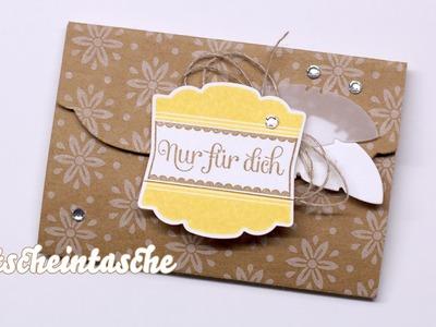 Gutscheinkarten mit Stampin' Up! nett verpackt