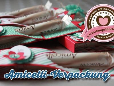 Tutorial: Amicelli-Verpackung mit Produkten von Stampin' Up!