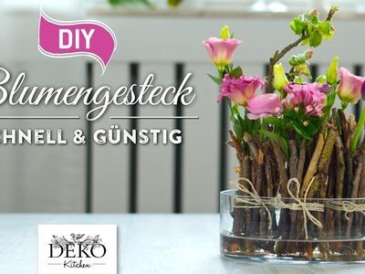 DIY: frühlingshafte Blumendeko schnell & günstig [How to] | Deko Kitchen