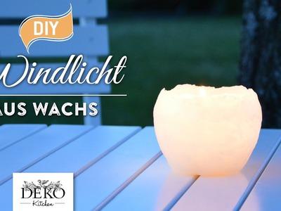 DIY: hübsche Windlichter aus Wachs selber machen [How to] | Deko Kitchen