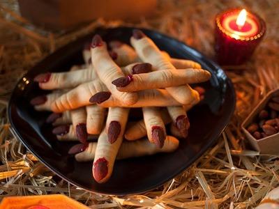 Halloween Party Rezept: Gruselige Hexenfinger