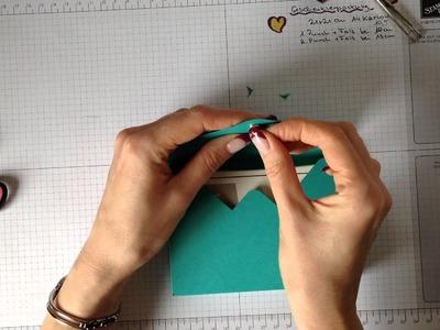 Stampin Up Geschenkschachteln basteln mit Magnetverschluss