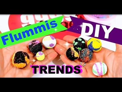 TRENDIGE springende FLUMMIS selber machen | Foam Clay deutsch | DIY Inspiration Anleitung