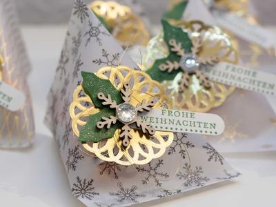 Weihnachtliche Sour-Cream-Box - Stampin' Up!