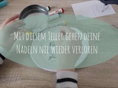 """DIY """"Nadelkissen"""": Magnet-Nadelteller - nie mehr Nadeln suchen"""