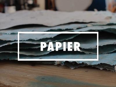 DIY:  Papier selber schöpfen