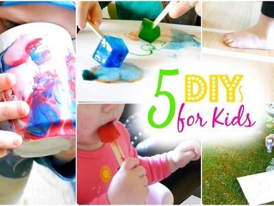 5 DIY Ideen für Kinder | Kids Hacks | Einfach, schnell & Günstig