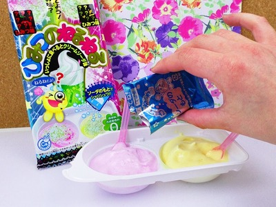 Popin' Cookin' Süßigkeiten Set Cream Soda DIY | Kracie Demo | DIY Candy mit Überraschungs Geschmack