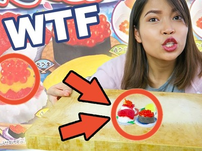 Ekelige SUSHI Süßigkeiten aus Japan! | Kracie Popin' Cookin' DIY Candy #2