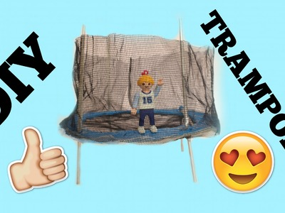 DIY PLAYMOBIL TRAMPOLIN ♡