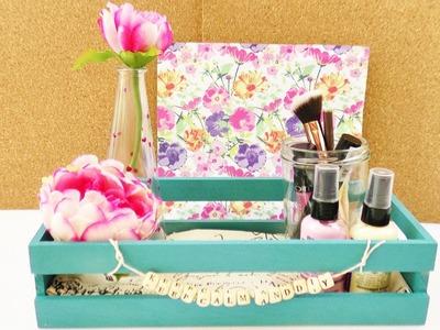DIY Zimmer dekorieren | Deko & Aufbewahrung einfach gestalten | Schreibtisch, Kosmetik & Nagellack