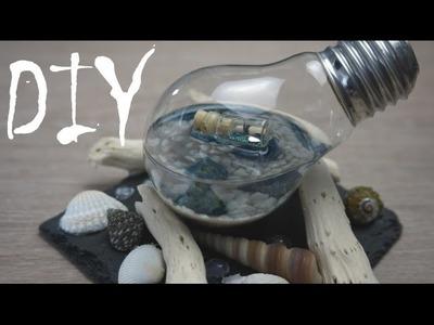 Ein Stückchen Meer ~ Glühbirne und Gießharz ~ (DIY. Tutorial)